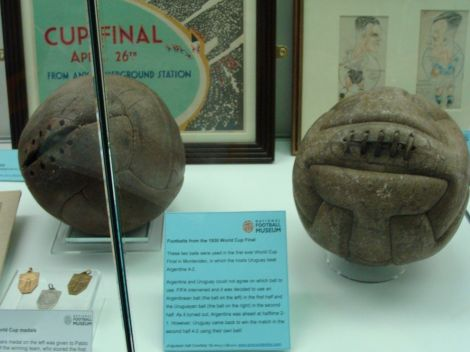 This article will give you your answer—and a close-up look at the footballs from that pivotal game! Take a look here for more information on the winning country. Photograph by Ben Sutherland, courtesy Wikimedia. CC-BY-2.0