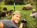Selfie with a Tortoise