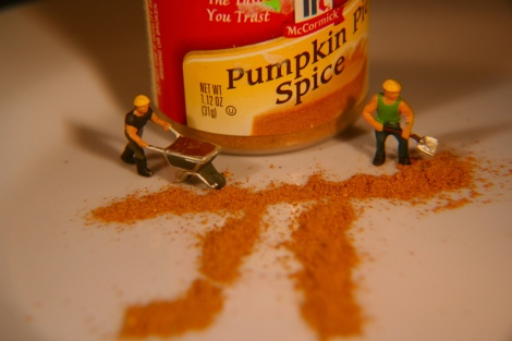 Pumpkin spice is everywhere.  Photograph by Kate Ter Haar, courtesy flickr. CC-BY-2.0