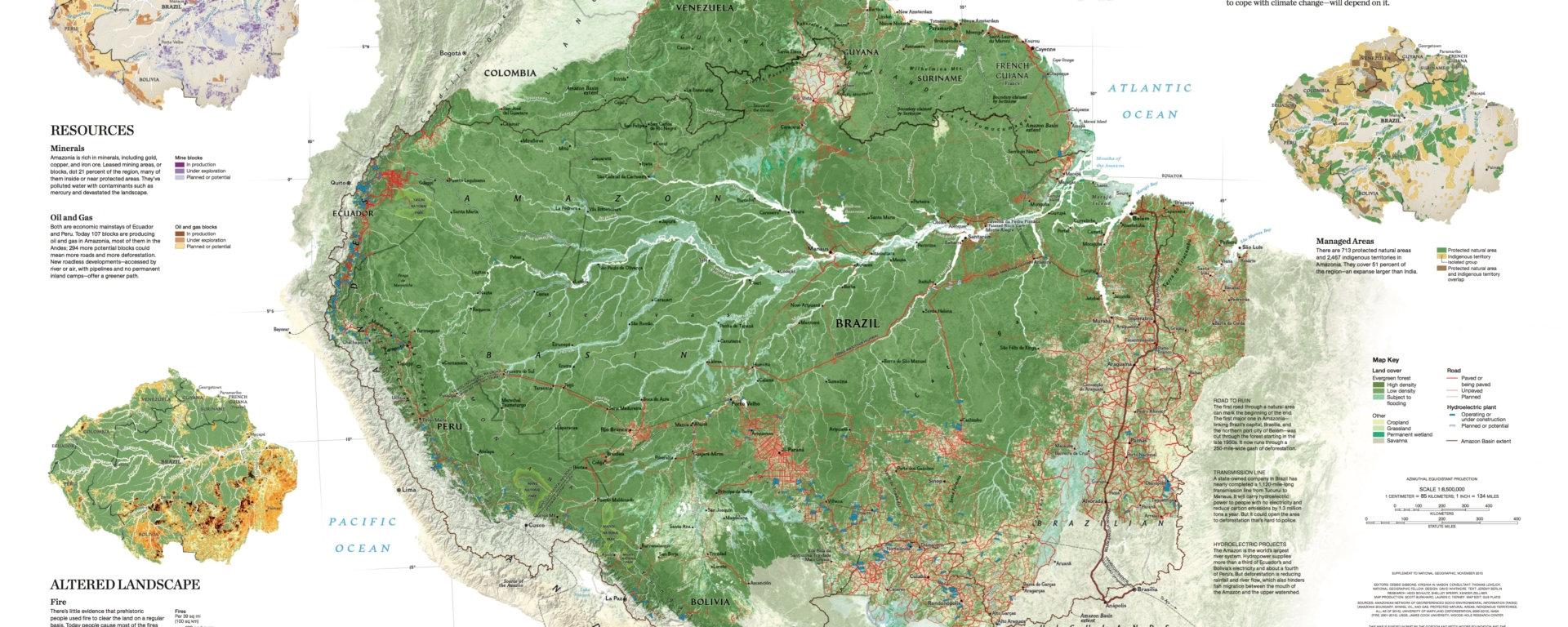 Amazon Forest Map The Amazon Rain Forest Is Not an Untamed Jungle – National