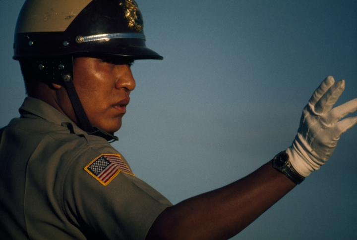 The Navajo Nation Rural Addressing Authority is working to make sure more homes and other structures on the Navajo Nation have real addresses—something that would make law enforcement more efficient. Photograph by Bruce Dale, National Geographic