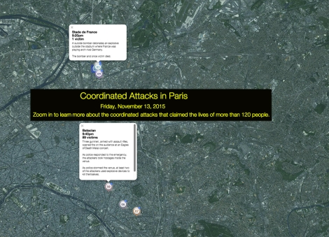 Use today's MapMaker Interactive map to follow the terrorist attacks in Paris. Update it as more information becomes available.