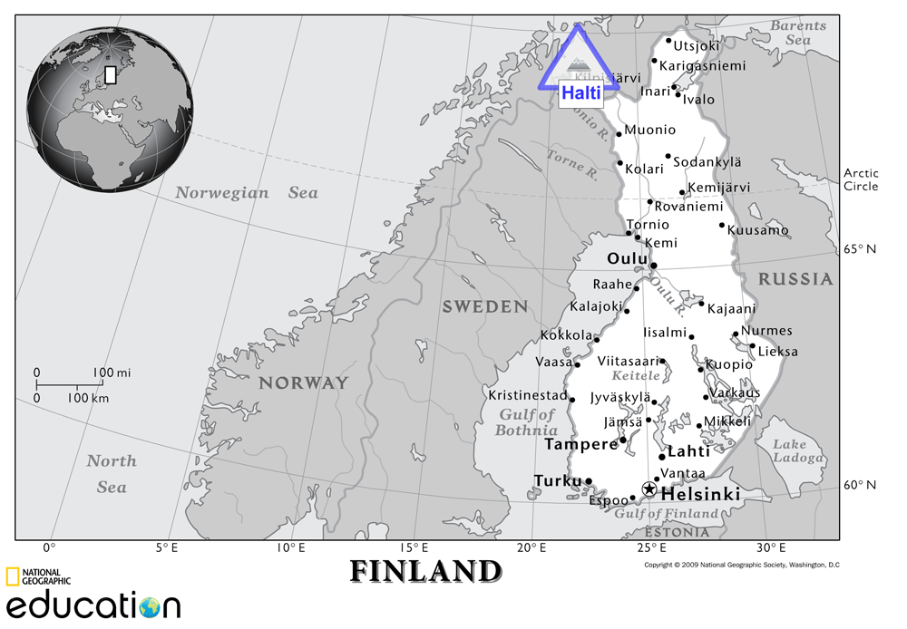 Norway May Help Finland Reach New Heights Nat Geo Education Blog - Norway michigan map