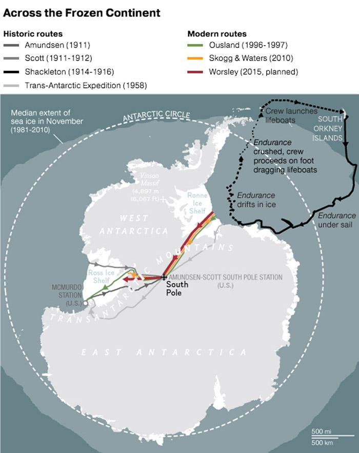 Explorer Dies in RecordBreaking Antarctic Crossing Nat Geo