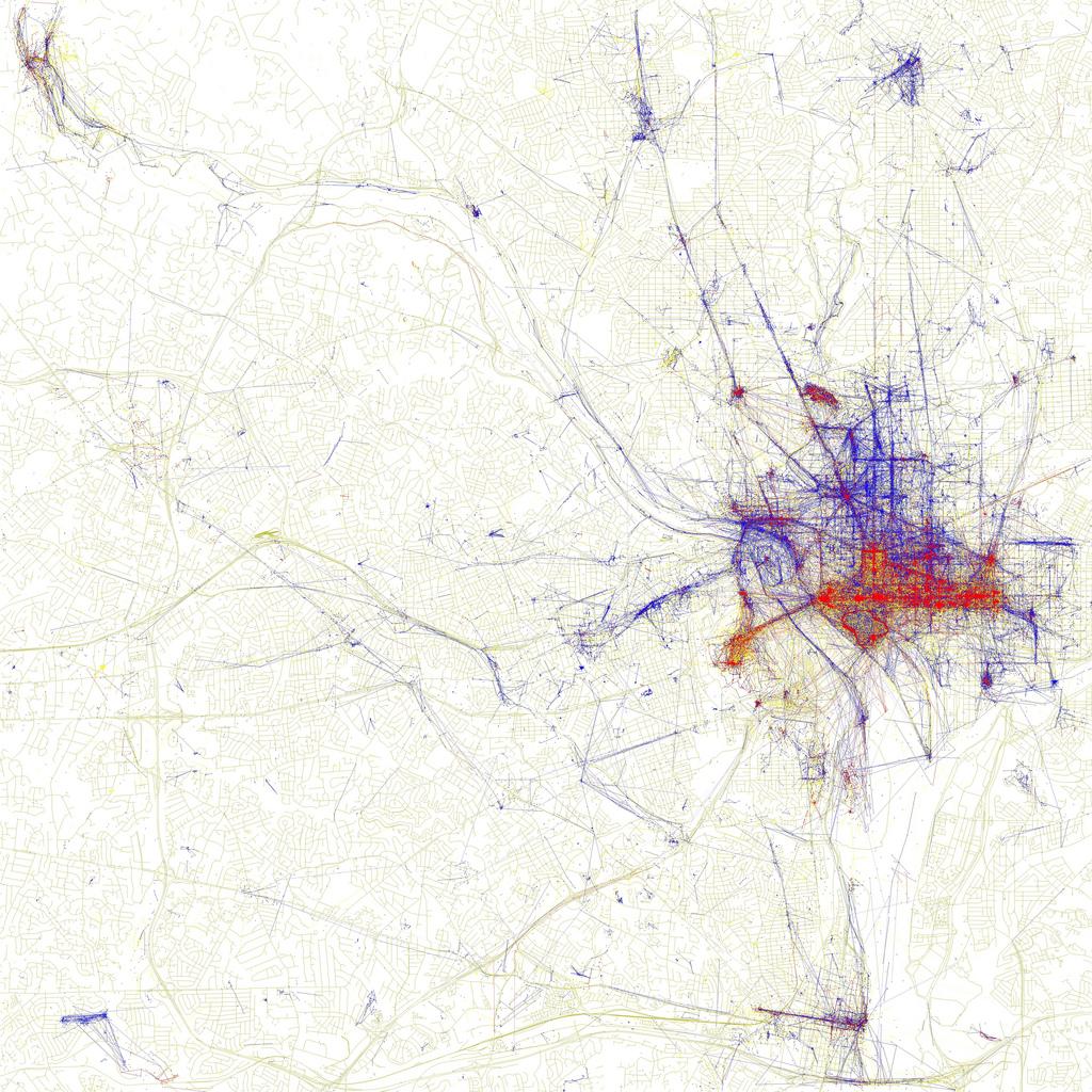 Maps Show Where Tourists Go—and Where Locals Do