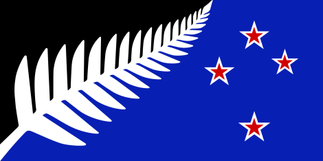NZ_flag_design_Silver_Fern_(Black,_White_&_Blue)_by_Kyle_Lockwood.svg