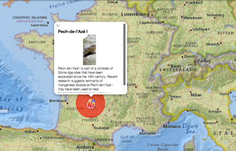 The new research was conducted at the Pech-de-l'Azé I site in the Dordogne region of southwestern France.