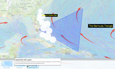Burps Of Death In The Bermuda Triangle Nat Geo Education Blog - Map of us and bermuda
