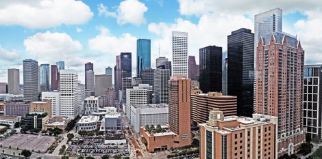 Houston is one of the cities introducing practical innovations to meet the challenges of an increasingly urbanized world. Photograph by Henry Han, courtesy Wikimedia. CC-BY-SA-3.0