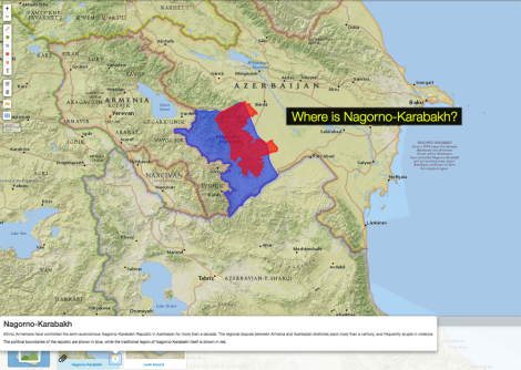 What S Going On In Nagorno Karabakh Nat Geo Education Blog