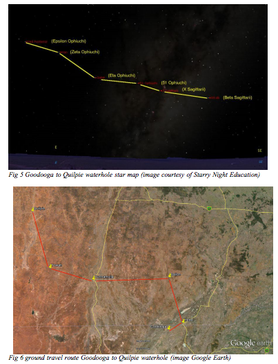Aboriginal Australians used star maps like this to help navigate their way across the continent.
