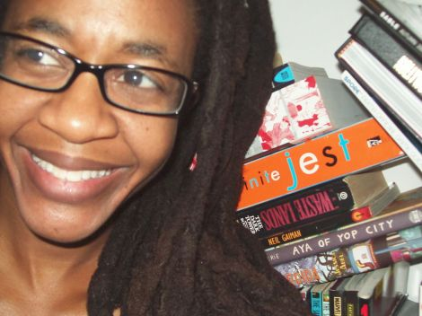 Nnedi Okorafor won the Nebula for best novella for her work Binti. Female authors were also recognized in the best novel (Naomi Novik, Uprooted), best novelette (Sarah Pinske, Our Lady of the Open Road), and best short story (Alyssa Wong, Hungry Daughters of Starving Mothers). Photograph by Cheetah Witch, courtesy Wikimedia. Public domain.