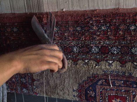 rug shearing