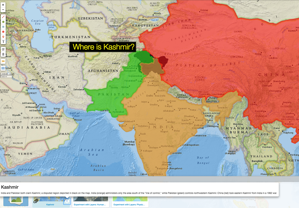 Mapping the Conflict in Kashmir – National Geographic Education Blog