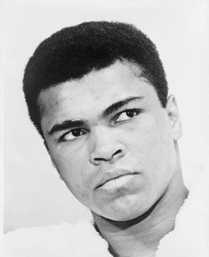 1967, the year this iconic photo was taken, was a momentous one for its subject, the boxing great Muhammad Ali. In 1967, Ali refused to be drafted for the Vietnam War, and as a result was denied his boxing license and passport. Ali did not return to the ring until 1970. Photograph by Ira Rosenberg, courtesy Library of Congress