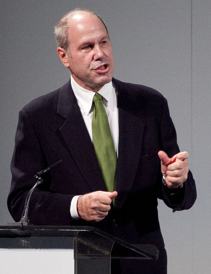 """Billionaire businessman Michael Eisner was a double major in English and Theater at Denison University in Ohio. He has defended his liberal arts education by saying """"Literature is unbelievably helpful, because no matter what business you are in, you are dealing with interpersonal relationships. It gives you an appreciation of what makes people tick."""" Photograph by Ed Schipul, courtesy Wikimedia. CC-BY-SA-2.0"""