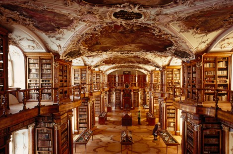 Ah, library porn. Photograph by Thomas J. Abercrombie, National Geographic