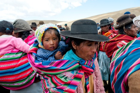 The Quechua are an indigenous people native to the central Andes region of South America. Photograph by Beth Wald