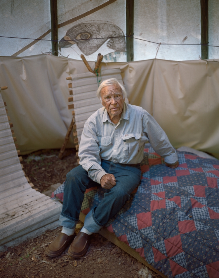 John Craighead, 100, spent his life championing fighting for the conservation of rivers and contiguous ecosystems.Photograph by Erika Larsen, National Geographic