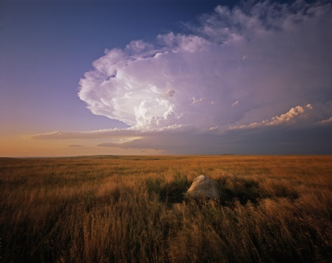 A glacial remnant of an earlier climate stands sentinel over the landscape in South Dakota. Photograph by Dykinga Photography LLC, courtesy National Geographic