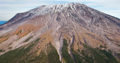 Mount St. Helens  National Volcanic Monument, WA (NGS MM7852) / Aeriel, Crater