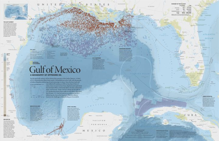 Zoom in on this great map here. Map by William E. McNulty, National Geographic