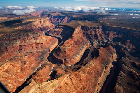 The Grand Canyon, located in Arizona, is one of the Seven Natural Wonders of the World. Photograph by Pete McBride, National Geographic.