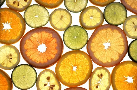 Eat some citrus. Photograph by Agricultural Research Service. Public domain