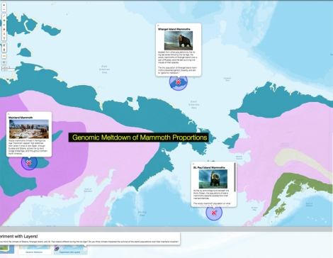 Check out today's MapMaker Interactive map to see where the specimens in the study were found, and how climate may have impacted their extinction.