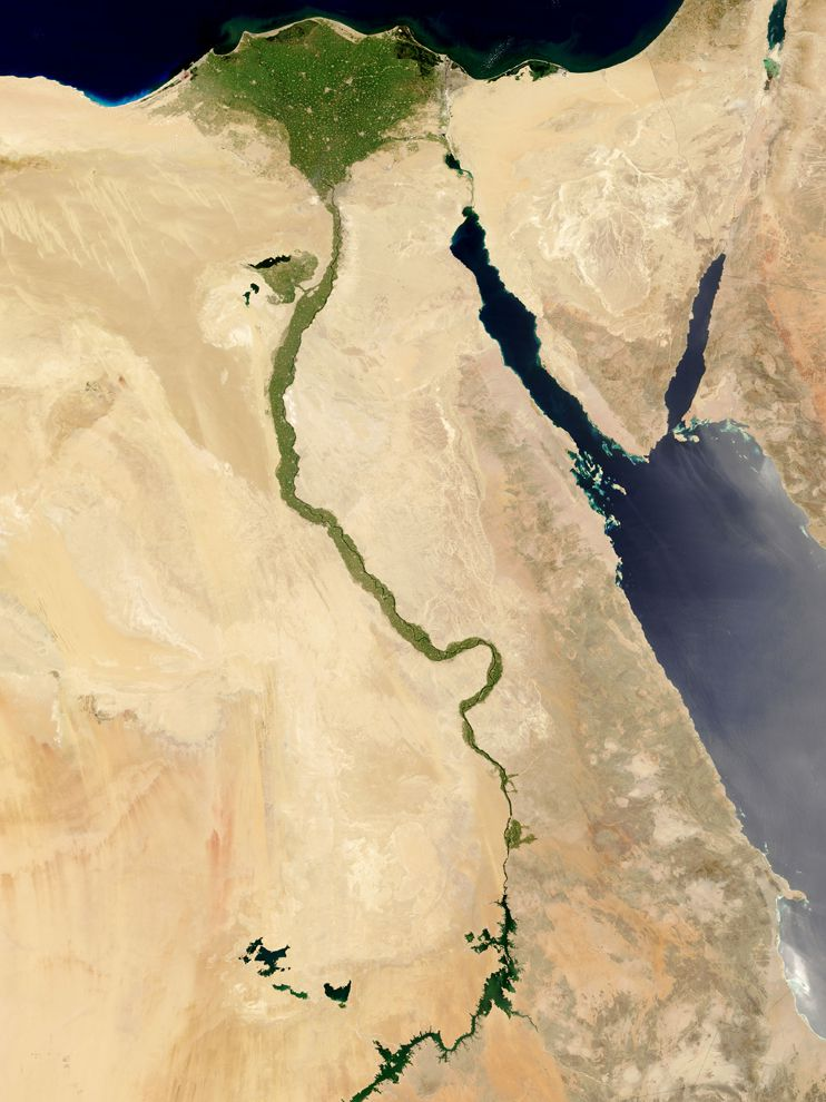 The Vanishing Nile Nat Geo Education Blog - Map of egypt national geographic