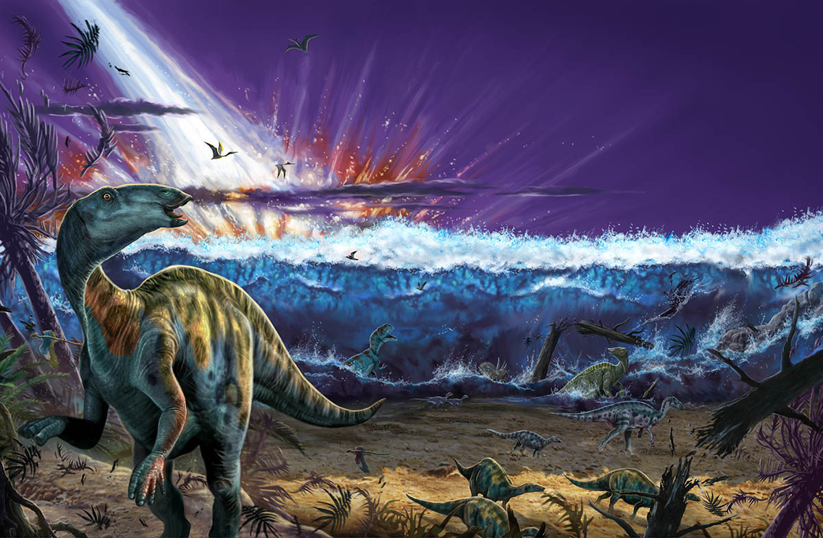dinosaur and extinction The results of this study, which were based on estimated real global biodiversity, showed that between 628 and 1,078 non-avian dinosaur species were alive at the end of the cretaceous and underwent sudden extinction after the cretaceous–paleogene extinction event.