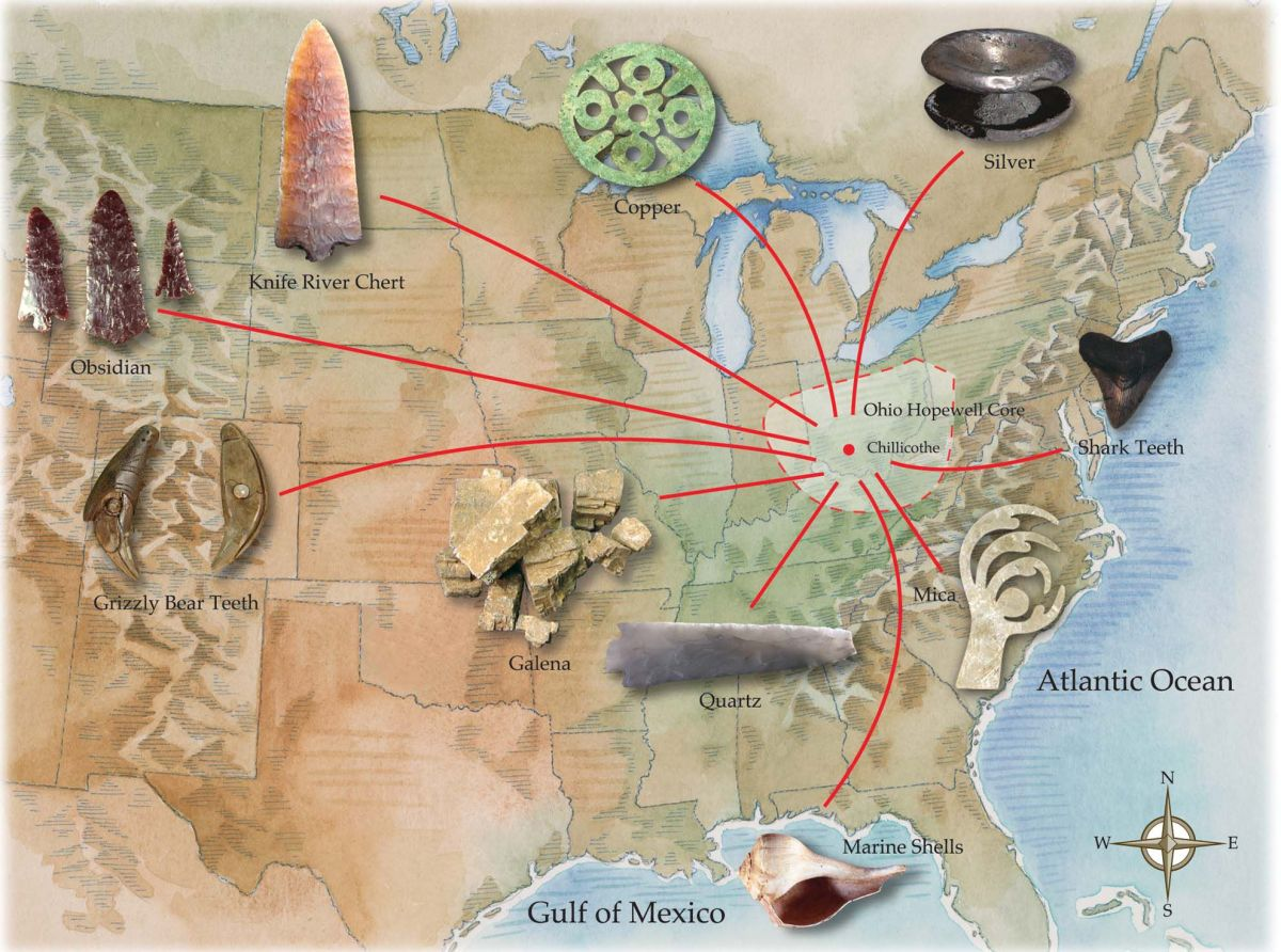 Traders World Ohio >> Out-of-this-World Beads Show Native Culture's Interaction ...