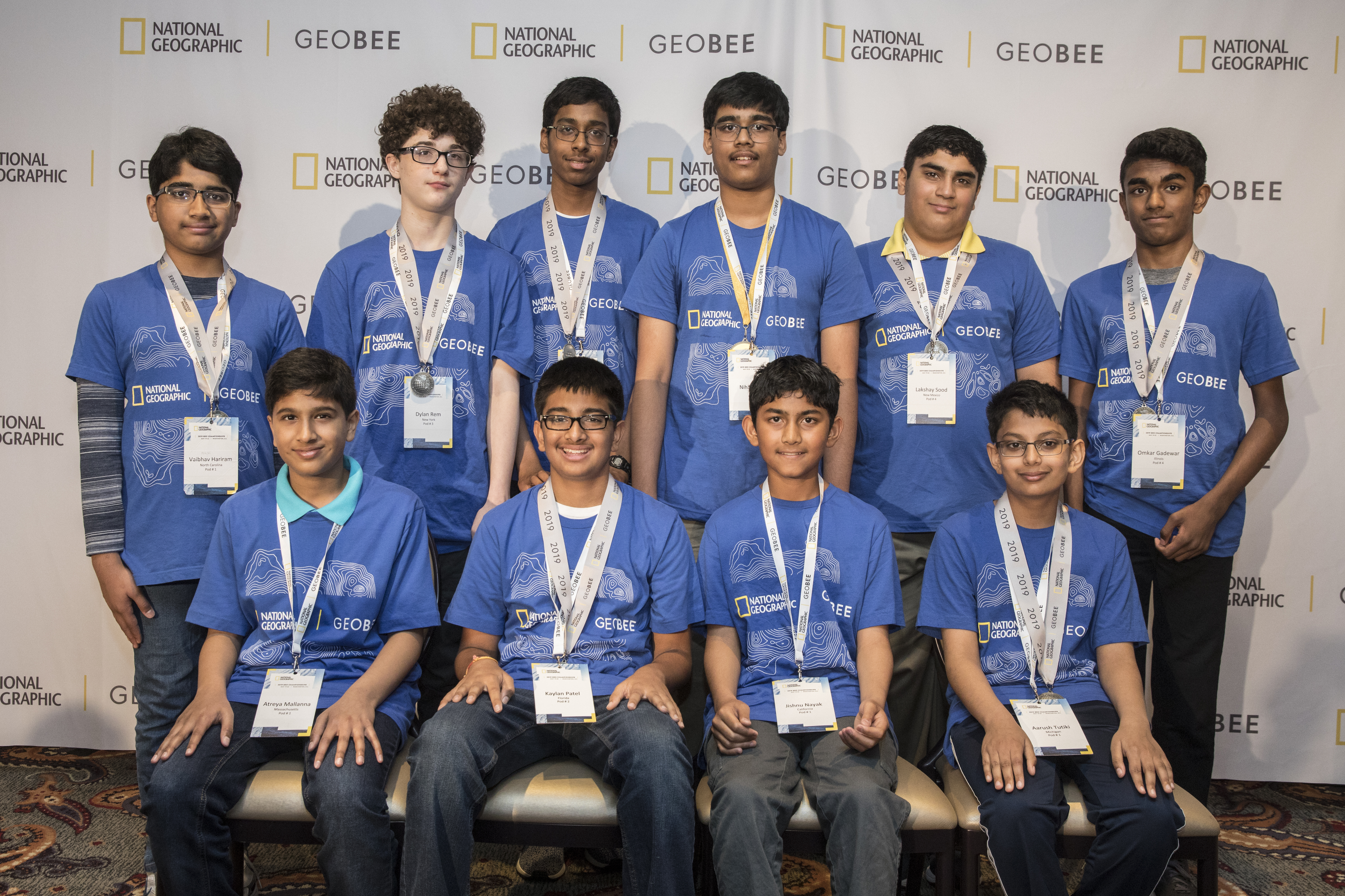 The National Geographic GeoBee Top 10.